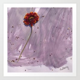Mulberry Art Print