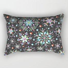 Snowflake Filigree Rectangular Pillow