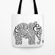 Ampersand Elephant Tote Bag