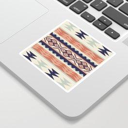 Native American Geometric Pattern Sticker