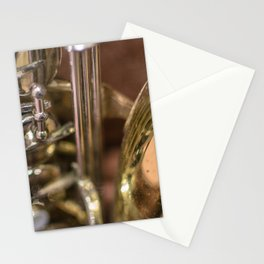 Saxophone detail Stationery Cards