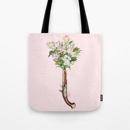 FLOWER PISTOL Tote Bag