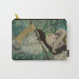Edouard Manet - Spring Carry-All Pouch