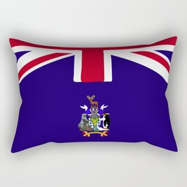 Sourth Georgia and the South Sandwich Islands flag emblem Rectangular Pillow