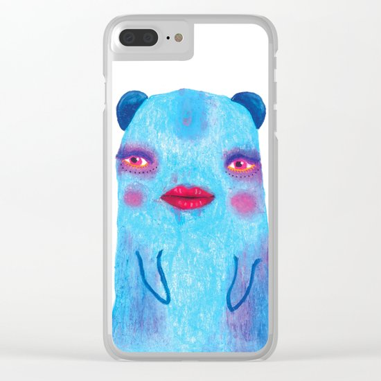 Some Of Us Are Born Fabulous Clear iPhone Case