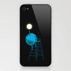 Reach the moon iPhone & iPod Skin