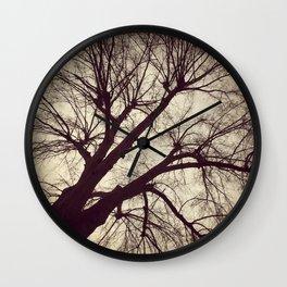 Looming Tree Wall Clock