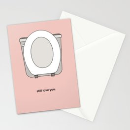 Seat Up Stationery Cards