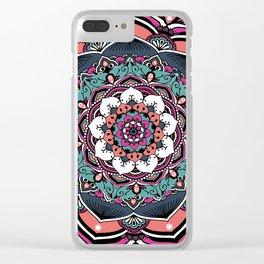 Eternal Harmony Bohemian Mandala Clear iPhone Case