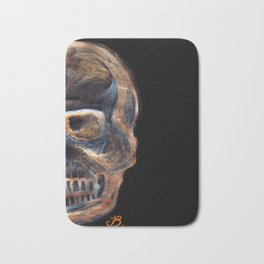 Crystal skull Bath Mat
