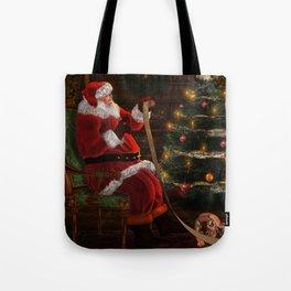 Santas List Tote Bag