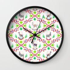 A Llama Folk Tale Wall Clock