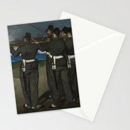 Edouard Manet - The Execution of Emperor Maximilian Stationery Cards