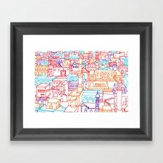 I Will Go Anywhere Framed Art Print