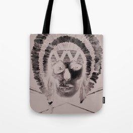 Woman/Skull Tote Bag