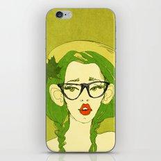 selfie girl_7 iPhone Skin