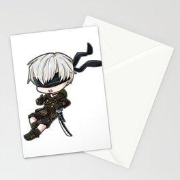 Chibi 9S Stationery Cards