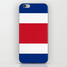 Costa Rica Flag iPhone Skin