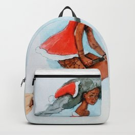 Mrs claus Backpack