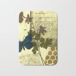 Columbine Love Letters Bath Mat