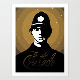 The Last Crusade Art Print