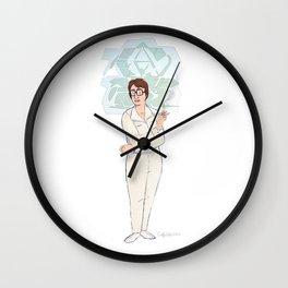 A Microbiologist Wall Clock