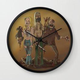 The Fireflys Wall Clock
