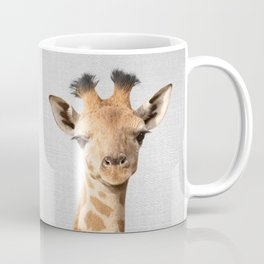 Baby Giraffe - Colorful Coffee Mug
