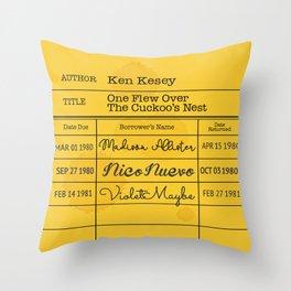 KEN KESEY (1962) Throw Pillow