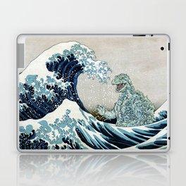 Godzilla Off Kanagawa Laptop & iPad Skin