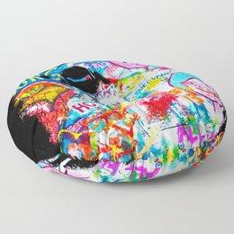 Graffiti Hypebeast Bape Illustration Floor Pillow