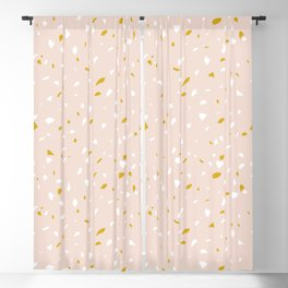 Terrazzo Blackout Curtain