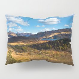 Highland view. Pillow Sham