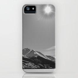 Winter at Summit Lake iPhone Case