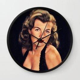 Corinne Calvet, Vintage Actres Wall Clock