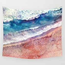 Sea and sand Wall Tapestry