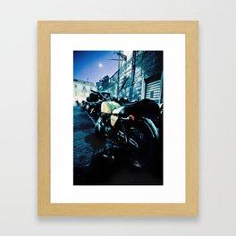 Night Ride in Sorrento  Framed Art Print