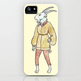 Medieval Goatman iPhone Case