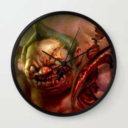 The Pudge Wall Clock