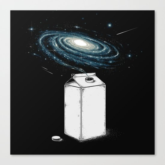Milky Galaxy Canvas Print