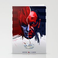 house of cards Stationery Cards featuring House of Cards fan art by ERABOY