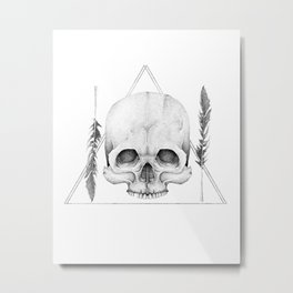 The Graveyard Club Metal Print