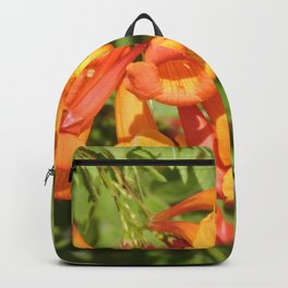 Natural Brass Blowing in the Breeze Backpack