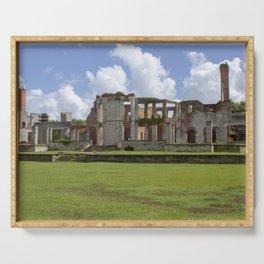 Dungeness Ruins | Cumberland Island, GA Serving Tray