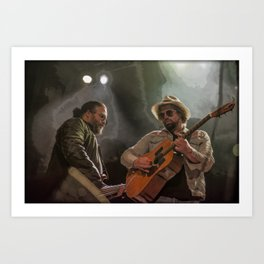 Dynamic Duo  Art Print