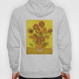 Vincent Van Gogh Fifteen Sunflowers In A Vase Hoody