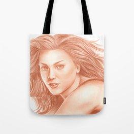 Woman Portrait 3 Tote Bag