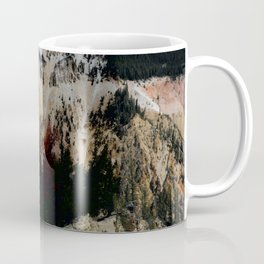 Yellowstone National Park Mountain Range Coffee Mug