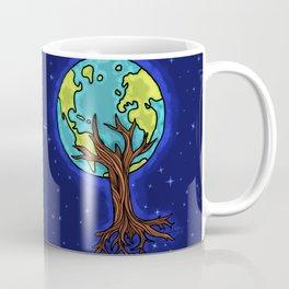 SPACE EARTH TREE Coffee Mug