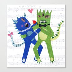 monster tango. Canvas Print